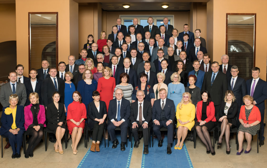 XIII Riigikogu koosseisu ühispilt, 21. veebruar 2019
