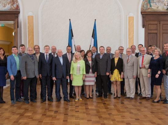 Eesti Keskerakonna fraktsioon koos ametnikega