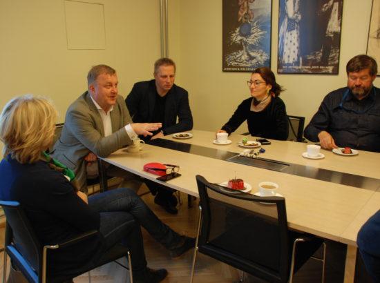 Rahvusooper Estonia toetusrühm kohtub ooperi direktori Aivar Mäega