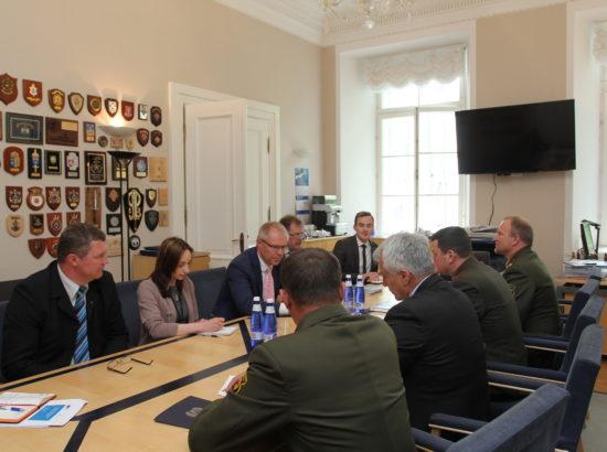 Kohtumine Valgevene kaitseministeeriumi delegatsiooniga