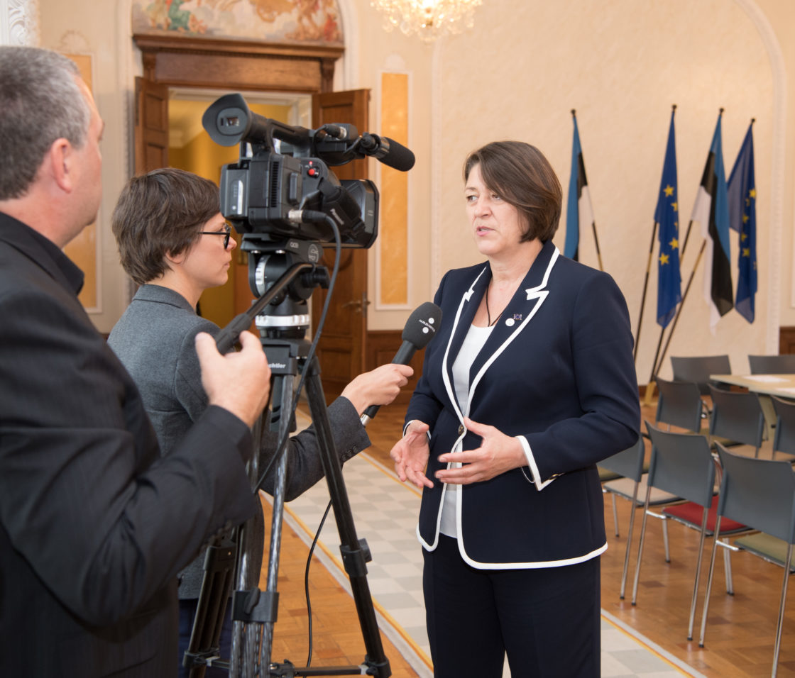Euroopa Komisjoni transpordivolinik Violeta Bulc