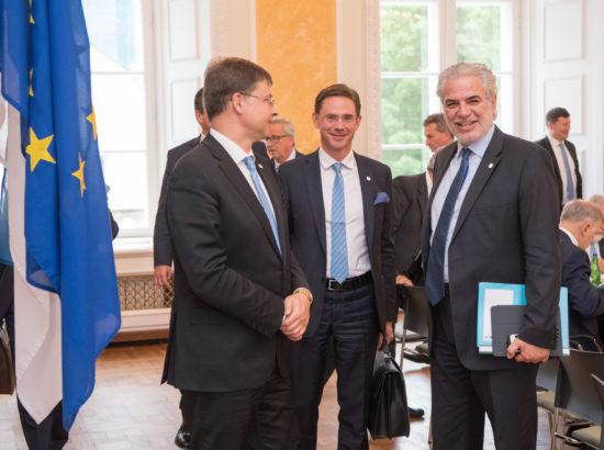 Kohtumine Euroopa Komisjoni volinike kolleegiumiga
