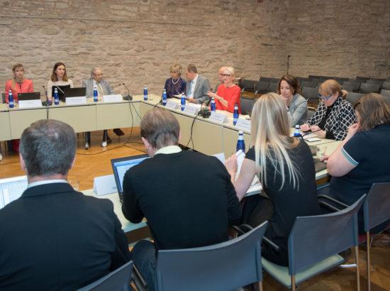 Rahvastikukriisi lahendamise probleemkomisjoni avalik istung, asendusemaduse seadustamise küsimused