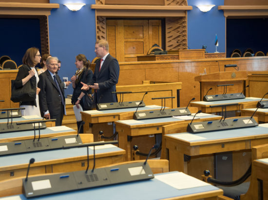 Väliskomisjon kohtus Itaalia parlamendi väliskomisjoni delegatsiooniga