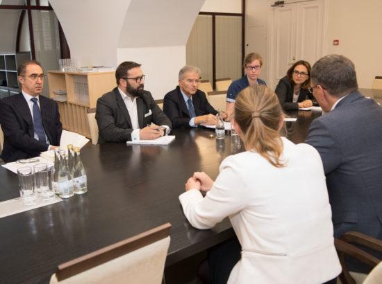 Euroopa Liidu asjade komisjon kohtus Itaalia parlamendi ELi ja välisasjade komisjoni delegatsiooniga