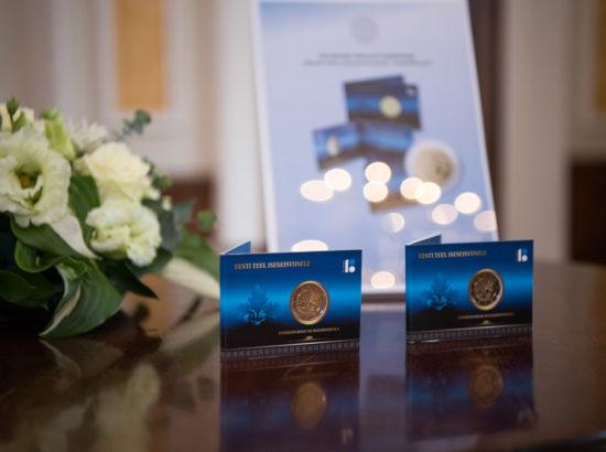 Eesti iseseisvusele eelnenud sündmustele pühendatud 2-eurose käibemünt