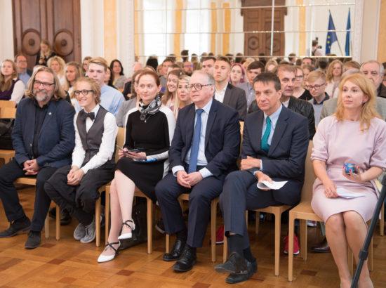 Eesti iseseisvusele eelnenud sündmustele pühendatud 2-eurose käibemündi esitlus
