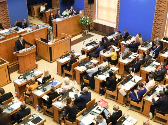 Rahvusparlamentide Euroopa Liidu asjade komisjonide esimeeste istung (COSAC)