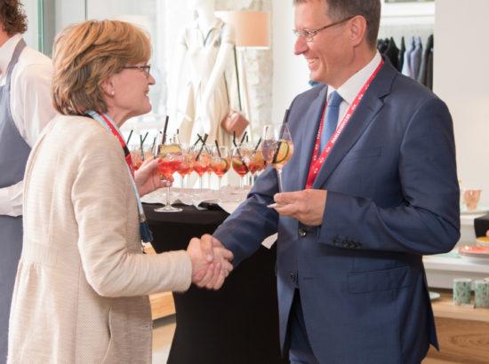 Euroopa Parlamendi I aseesimees Mairead Mcguinness ja Euroopa Liidu asjade komisjoni esimees Toomas Vitsut