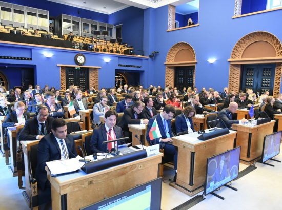 Parlamentide vaheline majanduskomisjonide esimeeste konverents Euroopa transpordiühenduste teemal