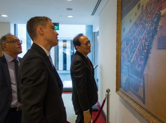 Riigikogu aseesimees Taavi Rõivas kohtus Singapuri parlamendi aseesimehega