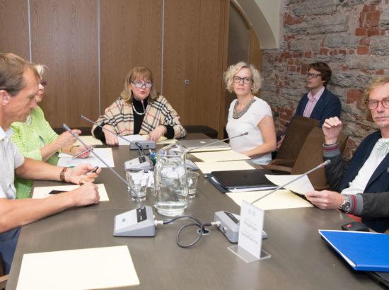 Sotsiaalkomisjoni istung, 5. september 2017