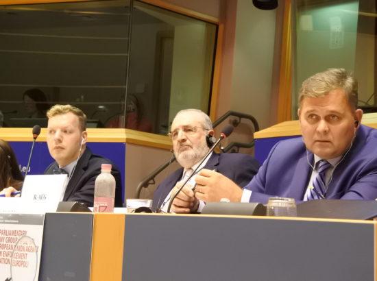 Europoli parlamentaarse ühiskontrolli töörühma koosolek