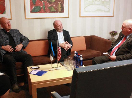 Eesti-USA parlamendirühm ja maaelukomisjon kohtusid USA Kongressi delegatsiooniga