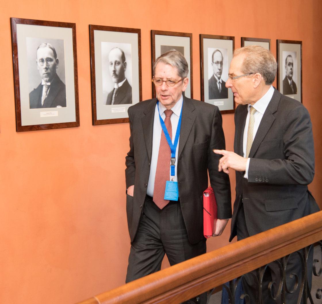 Riigikogu esimees Eiki Nestor avas Euroopa Liidu Kõrgemate Kohtute Presidentide Ühenduse konverentsi