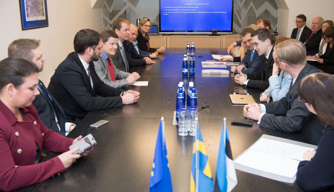 Euroopa Liidu asjade komisjoni kohtumine Rootsi Euroopa Liidu asjade komisjoniga