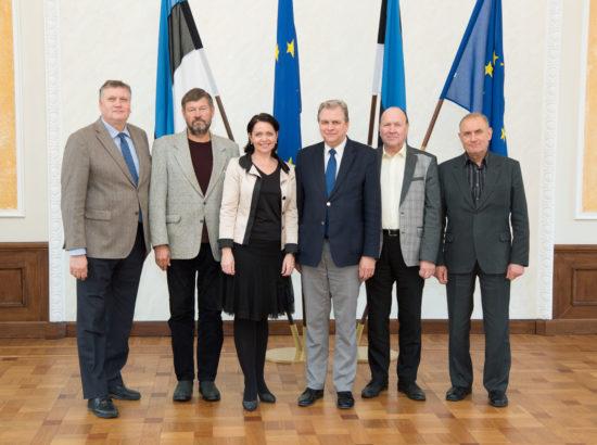 Korruptsioonivastase erikomisjoni koosseis, 23. oktoober 2017
