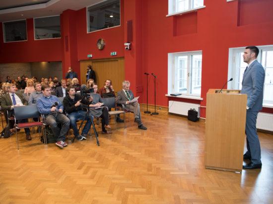 """Keskkonnakomisjoni ja kodanikuühenduse Eesti Metsa Abiks koostöös korraldatud konverents """"Mets kui loodusvara ja ühine vastutus"""""""