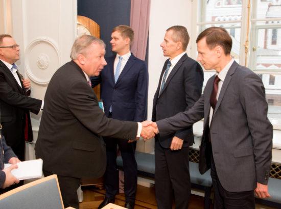 Rahanduskomisjoni delegatsioon kohtus Bundestagi rahanduskomisjoni delegatsiooniga