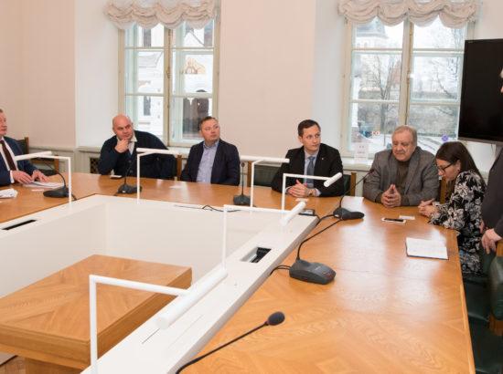 Eesti-Valgevene parlamendirühm kohtus Valgevene parlamendi liikmetega