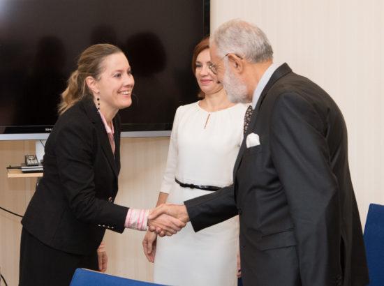 Väliskomisjoni ja riigikaitsekomisjoni liikmed kohtusid Liibüa välisministri Mohamed Tahar Syalaga