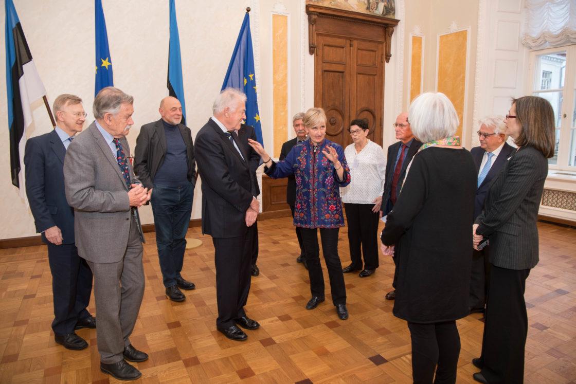Riigikogu liige Marianne Mikko kohtub Euroopa Parlamendi endiste liikmete ühenduse delegatsiooniga