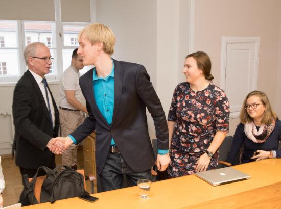 Riigikogu esimees Eiki Nestor kohtus Hea Eeskuju konkursi žüriiga