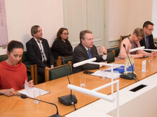 Riigikaitsekomisjoni ühisistung Eduskunna kaitsekomisjoni liikmetega