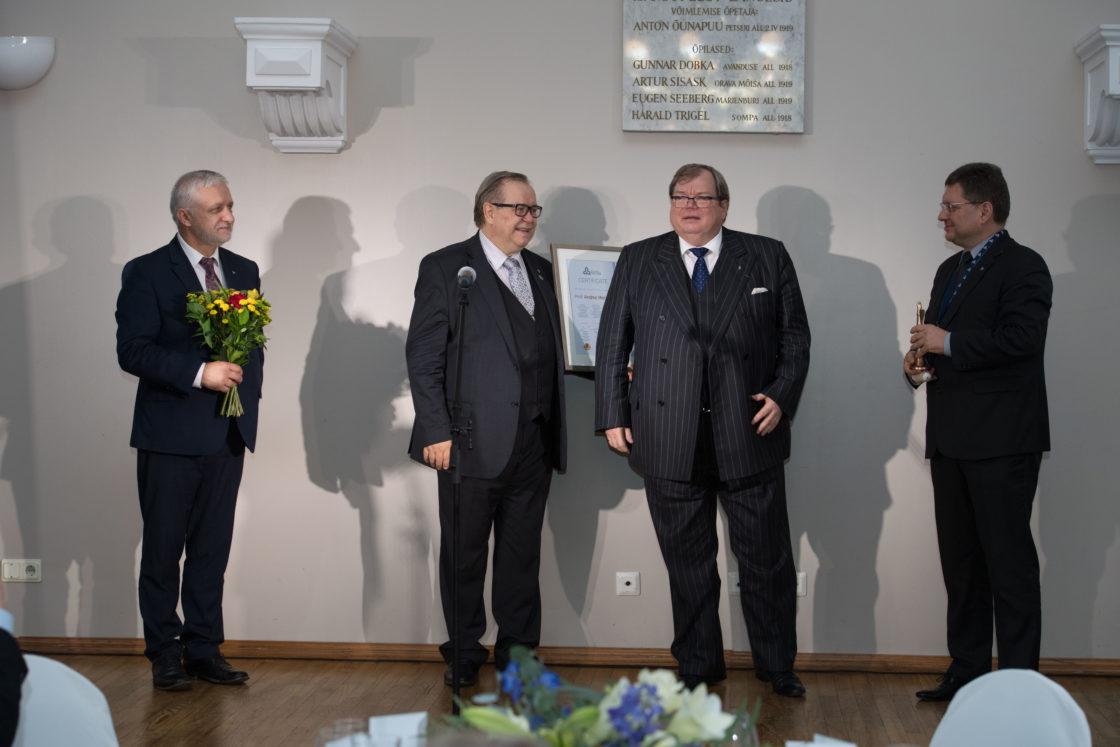 Balti Assamblee auhinna ja Balti innovatsiooniauhinna üleandmise tseremoonia