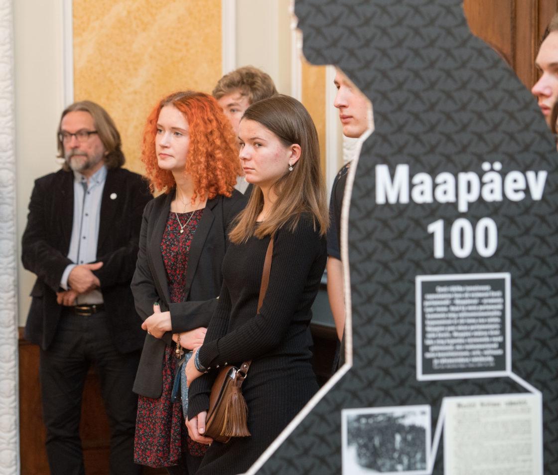 """Näituse """"Maapäev 100"""" avamine"""