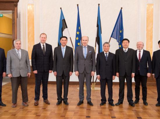 Maaelukomisjon kohtus Hiina Rahvakongressi põllumajandus- ja maaelukomisjoni delegatsiooniga