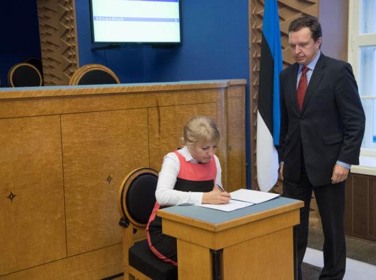 Karin Tammemägi ametivanne