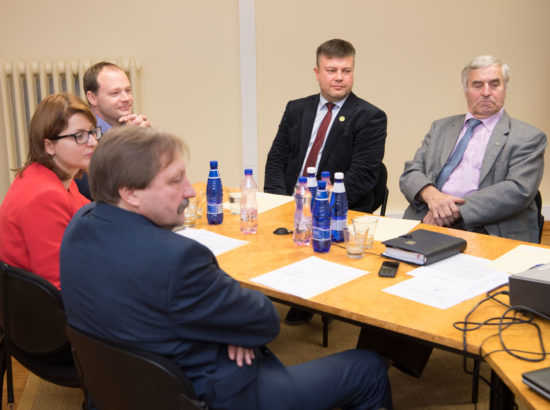 Riigireformi arengusuundade väljatöötamise probleemkomisjoni esimehe ja aseesimehe valimised