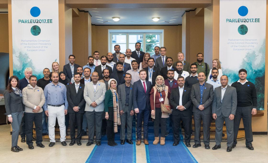 Riigikogu aseesimees Hanno Pevkur kohtus Omaani tippjuhtide delegatsiooniga