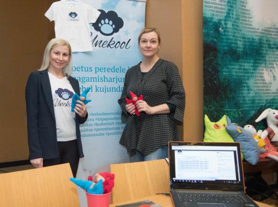 MTÜ Sotsiaalsete Ettevõtete Võrgustiku esindajad tutvustasid oma tooteid ja teenuseid