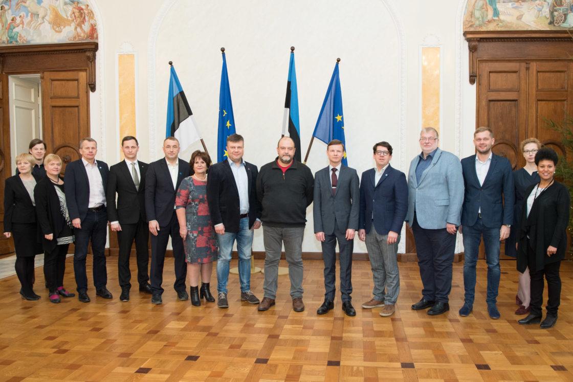 Rahanduskomisjoni koosseis, 19. detsember 2017