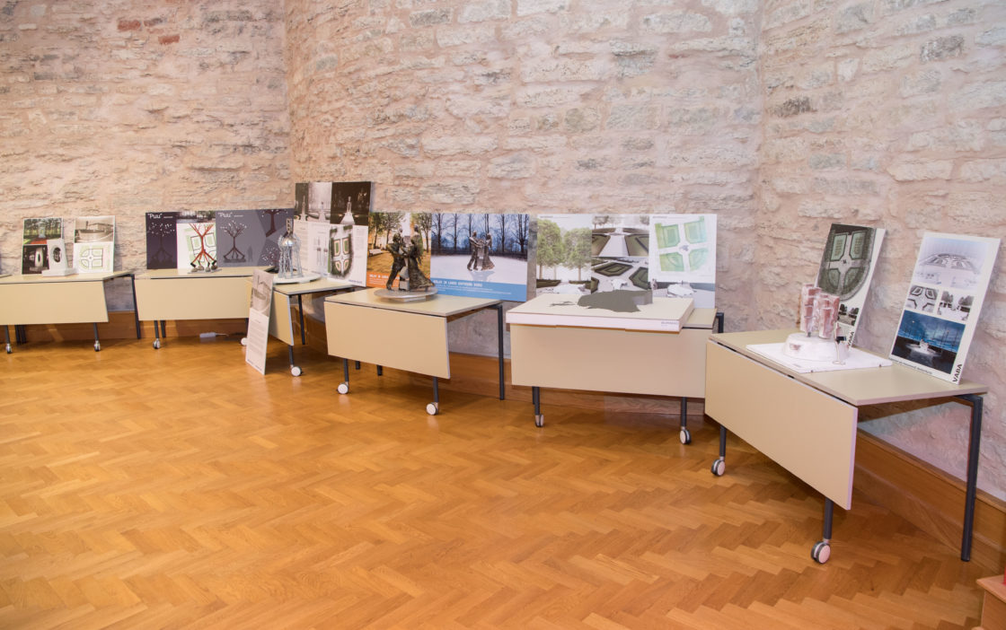 Kuberneri aia monumendi ideekonkursile esitatud tööd