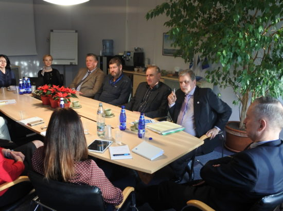 Korruptsioonivastane erikomisjon pidas istungi Viimsi Vallavalitsuses