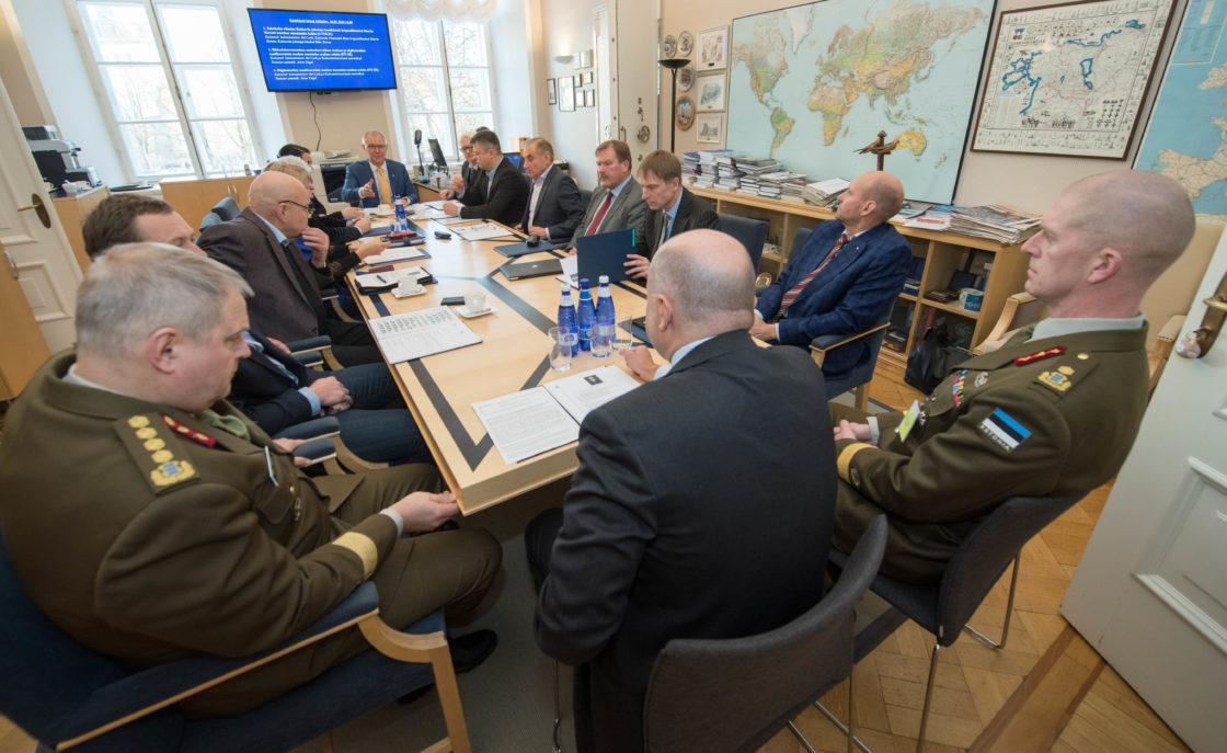 Seisukoha võtmine Kaitseväe juhataja kandidaadi brigaadikindral Martin Heremi ametisse nimetamise kohta