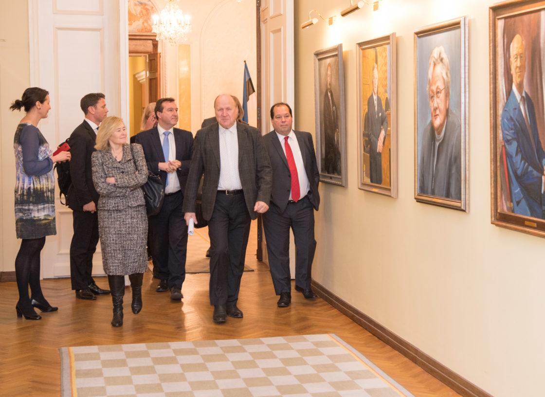 Kohtumine Ühendkuningriigi parlamendiliikmetega