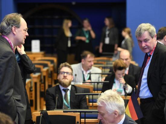 Euroopa Liidu parlamentide peasekretäride istung