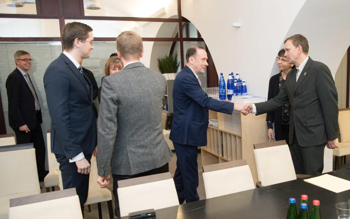 Euroopa Liidu asjade komisjoni liikmed kohtusid Ühendkuningriigi valitsuse liikme, Euroopa Liidust väljaastumise riigisekretäri lord Martin Callananiga