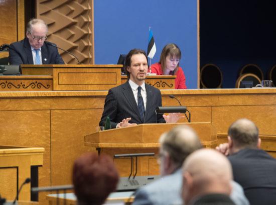 """Täiskogu istung, """"Kultuuripoliitika põhialused aastani 2020"""". 2017. aasta täitmise aruanne"""