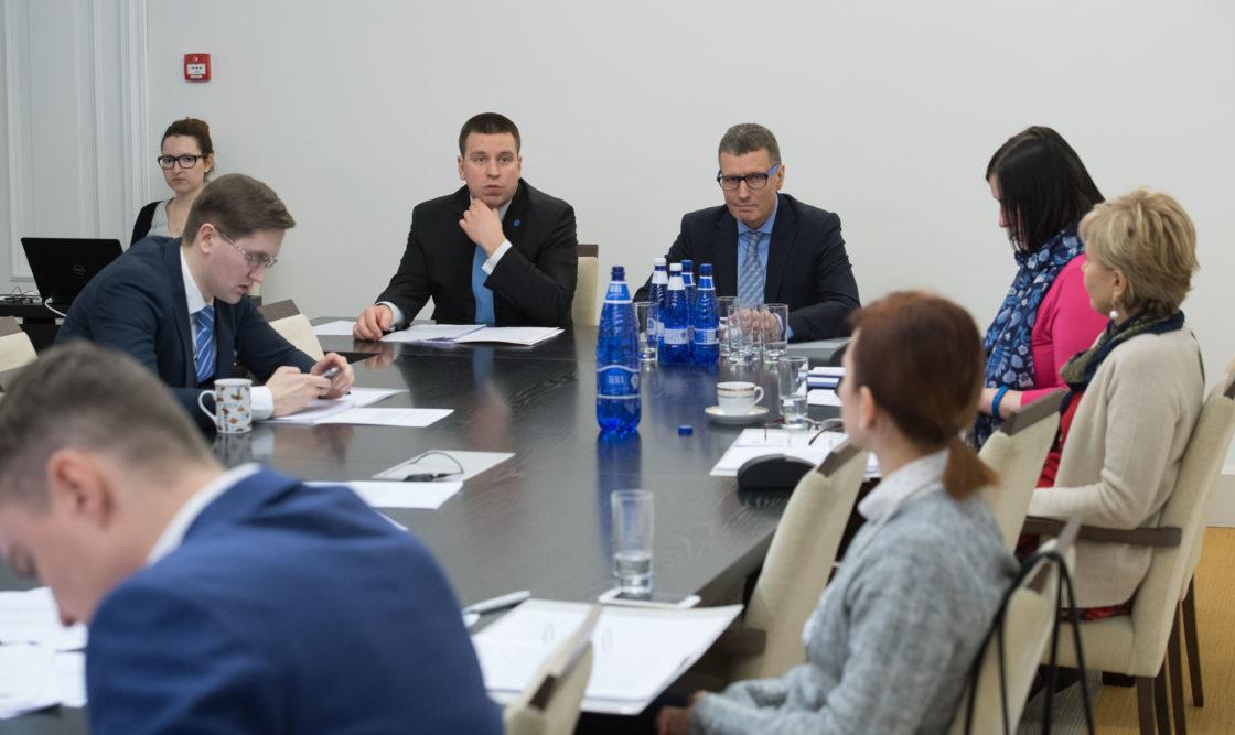 Euroopa Liidu asjade komisjonis Eesti seisukohad ELi institutsionaalsetes küsimustes
