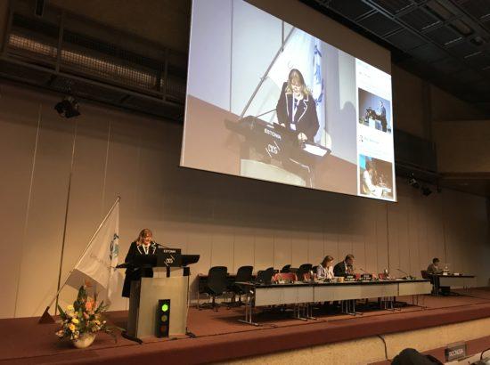 Parlamentidevahelise Liidu (IPU) Eesti delegatsiooni esimees Helmen Kütt ja liige Toomas Kivimägi osalevad 138. IPU assambleel Genfis Šveitsis