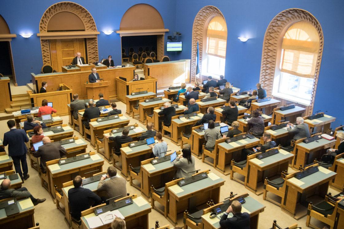 Täiskogu istung, Janar Holmi nimetamine riigikontrolöri ametisse