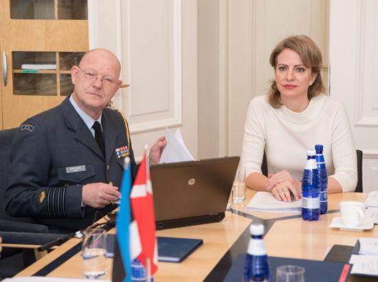 Riigikaitsekomisjon kohtus Taani suursaadiku Kristina Miskowiak Beckvardiga