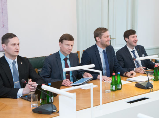 Rahanduskomisjoni liikmed kohtusid IMFi delegatsiooniga