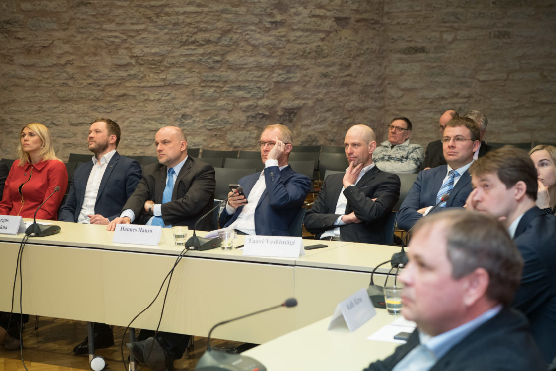 Riigikaitsekomisjoni ja kaitsetööstusettevõtete arutelu