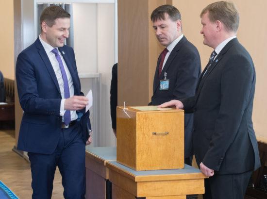 Riigikogu juhatuse valimised 2018